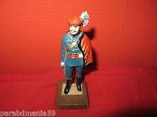 Vente figurine de plomb sur socle de bois-Grand modèle-Regiment Hussards-1859