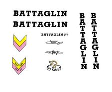 Battaglin Giro vélo stickers, transferts, des stickers-noir N. 20
