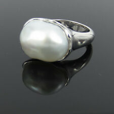 Vintage Tiffany & Co.Elsa Peretti South Sea Keshi Pearl & hand Made 18K Ring