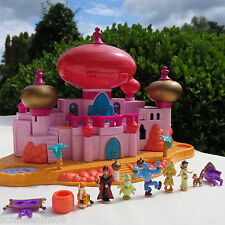 Mini polly pocket DISNEY JASMINE 's royal palace 100% COMPLETE Aladdin Château