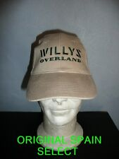 Casquette JEEP WILLYS OVERLAND beige ( MB MA GPA SAS 4X4 M201 WW2  USA NORMANDIE