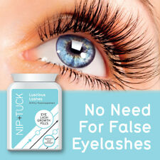NIP & TUCK EYE LASH GROWTH PILLS LUSCIOUS LASHES NO NEED FOR FALSE EYELASHES