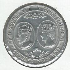 1937 King George VI Coronation Medallion