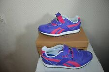 CHAUSSURE BASKET REEBOK  TAILLE 34 SHOES/ZAPATOS/SCARPE CUIR RUNNING NEUF