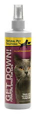NEW! NATURAL PET SOLUTION Get Down! Spray For Cats 16oz. 12285