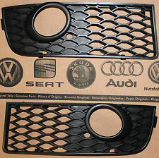 Audi A4 B6 8E original S-Line fog light grill grille front lower grills