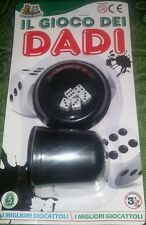 IL GIOCO DEI DADI - Dice Hand Table Game & Watch Figure Del 15 Vintage Poker