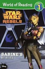Star Wars World of Reading: Sabine's Art Attack by Jennifer Heddle and Disney...