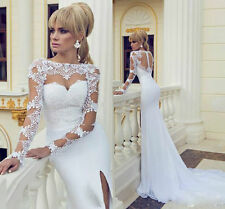 2015-40 Abiti da Sposa vestito nozze sera wedding evening dress++