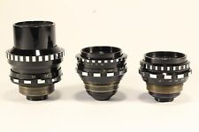 Set of 3 lenses for Kiev 16U Mir 11M Vega 7 Tair 41M Black Magic Pocket  BMPCC