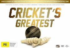 Cricket's Greatest Box Set DVD R4 Brand New