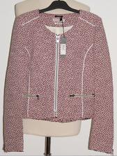 ✿ ��  NEUVE veste IKKS jacquard 40 rouge blanc noir voir 7 photos ✿ ��