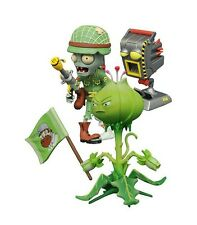 "Piante Vs Zombie gw2 ""FOOT SOLDIER Zombie & Sfoltire"" Action Figure DIAMOND SELECT"
