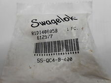 """SWAGELOK SS-QC4-S-400 ¼"""" QUICK CONNECT STEM X COMPRESSION TUBE FITTING 0.3Cv"""