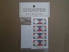 Signifer Historic Miniature Flags  15mm French Napoleonic 1804 Infantry  Pattern