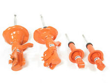 KONI STR.T (Orange) Shocks Struts Front & Rear Kit 01-02 Honda Civic Coupe Sedan