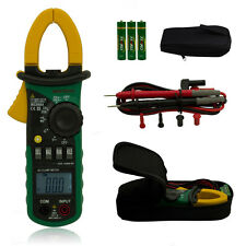 MASTECH MS2008A Auto Range Clamp Digital Multimeter AC DC Voltage Resistance New