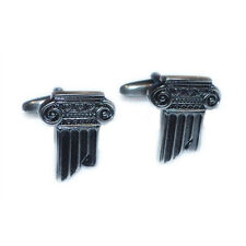 Greek Roman Column Christmas Present Architect Historian GIFT Box CUFFLINKS