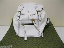 ORYANY WHITE JAYLIN ITALIAN LEATHER BACKPACK BAG PURSE NWOT
