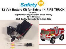 NEW! 12V 15AMP LONG RANGE BATTERY KIT FOR THE SAFETY 1ST FIRE TRUCK CAR