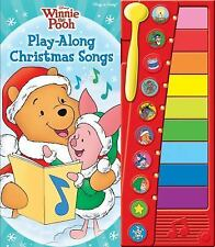 Disney Winnie the Pooh: Play-Along Christmas Songs Musical Book NEW