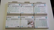 We R Memory Keepers Lifestyle Letterpress Plates Set Journaling/Home Made/Dots+