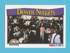 BASKETBALL - NBA PROPERTIES INC. - NBA HOOPS CARD NO. 280 - DENVER NUGGETS -1991