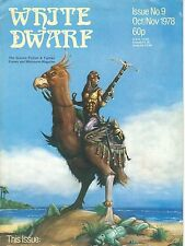 Rare White Dwarf Magazine #9-Oct/Nov 1978-FN NU