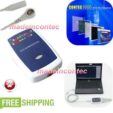 12-Lead/3-lead vector ECG workstation sync PC based software analyse CE Contec
