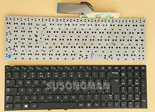 New For Samsung NP300E5A NP305E5A NP300V5A NP305V5A Keyboard Black No Frame UK