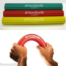 Resistance Theraband TENNIS ELBOW THERA-BAND FLEX BAR 3 SET REHAB XLT-LT-MED YRG