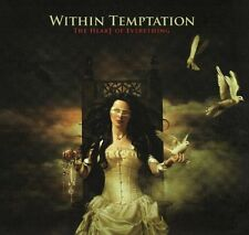Within Temptation - The Heart of Everything (CD, 2007, Gun) Import RARE/OOP