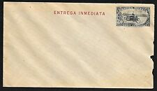 Mexico Special Delivery Postal Stationary Cover, Printing Error, Motorcycle 1933