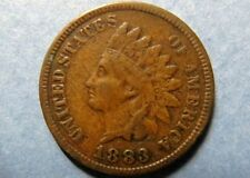 Antique 1883  INDIAN HEAD BRONZE CENT Circulated Philadelphia Mint Nice Details