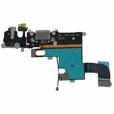 Black Headphone Audio Dock Connector Charging USB Port Flex Cable iPhone 6G 4.7""