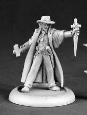 Abraham Van Helsing Chronoscope Reaper Miniatures RPG Vampire Witch Hunter Melee