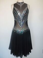 NEW FIGURE ICE DANCING DRESS COSTUME ADULT L