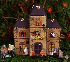 Gingerbread Haunted House - Part 6 of Gingerbread Village - The Victoria Sampler