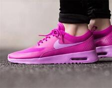 NIB Sz-7 Womens Nike Air Max Thea Premium Running/Training Shoe-Fuscia Glow/Pink
