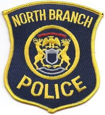 **NORTH BRANCH MICHIGAN POLICE PATCH**