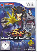 """"""" Yu-Gi-Oh! 5D's Master of the Cards """" (Nintendo Wii) ohne Anleitung"""