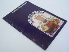 MOULINEX COOKBOOK - RARE - MANUAL FOR MOULINETTE CHOPPER/BLENDER