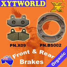Front Rear Brake Pads Shoes for Honda CBX 250
