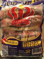 24 pkgs 4 oz Churritos IMPERIO Corn flour sticks Tot 6 lbs Mexican Candy