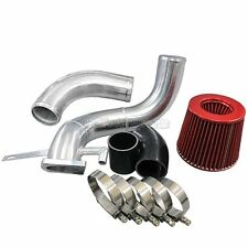 CX Bolt-on Turbo Air Intake Pipe + Filter For 89-99 Nissan 240SX S13 S14 SR20DET