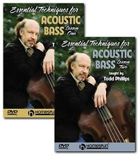 ACOUSTIC UPRIGHT- STAND UP BASS LESSONS - 2 DVD SET