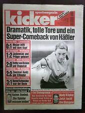 kicker Sportmagazin Nr.: 93 / 46. Woche  vom 12.11.1998