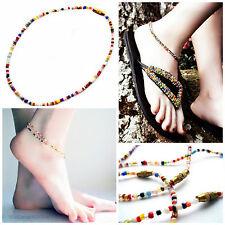 Africana Masai Etnico Tribale Colorato cavigliere, Fatti a Mano Fairtrade doni straordinari