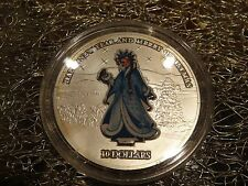 Nauru 10 dollars silver coin Snow Maiden