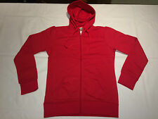 NEW Ladies B&C Wonder Hooded Sweat Jacket. Red M/12 H15